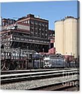 The Old California And Hawaii Sugar Company In Crockett California . C And H . 5d16770 Canvas Print