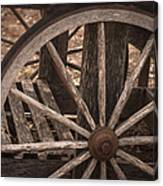 The Old Cart Canvas Print
