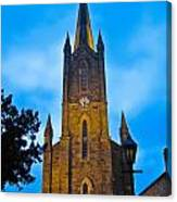The Old Church At Donegal Town Canvas Print
