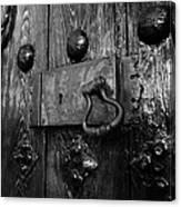 The Old Church Door Canvas Print