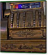 The Old Copper Cash Machine Canvas Print