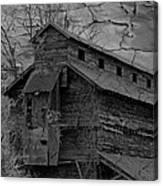 The Old Douglassville Hotel Canvas Print