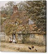 The Old Fish Shop Haslemere Canvas Print
