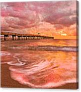 The Old Fishing Pier Canvas Print