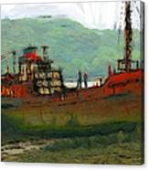 The Old Fishing Trawler Canvas Print