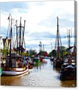 The Old Harbor Canvas Print