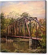 The Old Iron Bridge Canvas Print