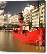The Old Lightship Canvas Print