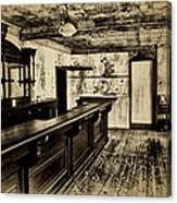 The Old Saloon Canvas Print