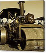 The Old Steam Roller Canvas Print
