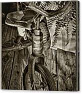 The Old Tricycle Canvas Print