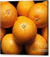 The Oranges Canvas Print
