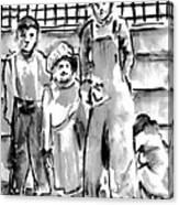 The Orphans Canvas Print