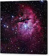 The Pacman Nebula Canvas Print