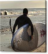 The Paddleboarder Canvas Print