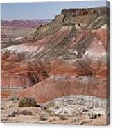 The Painted Desert  8013 Canvas Print