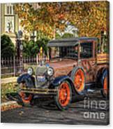 The Painted Lady's Gent Canvas Print