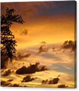The Painting Of The Creator Canvas Print