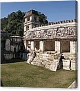 The Palace    Palenque Canvas Print