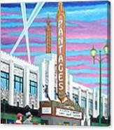 The Pantages Theatre Canvas Print