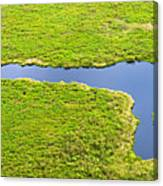 The Pantanal Seen From The Sky Vii Canvas Print