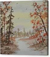 The Pathway Canvas Print