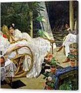 The Patio Canvas Print