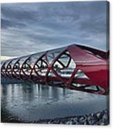 The Peace Bridge Canvas Print