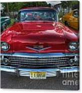 The Perfect Red Bel Air Canvas Print