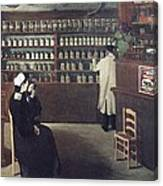 The Pharmacy, 1912 Artwork Canvas Print