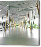 The Pick Up Point At Changi Airport In Singapore  Canvas Print