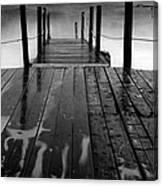 The Pier...protaras Canvas Print