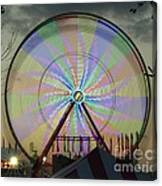 The Pinwheel Glow Canvas Print