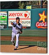 The Pitch Canvas Print