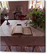 The Place Of The Bible In Kovero Canvas Print