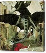 The Plague Canvas Print