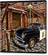 The Police Hideout Canvas Print