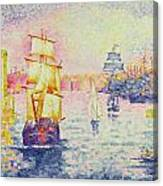 The Port Of Marseilles Canvas Print