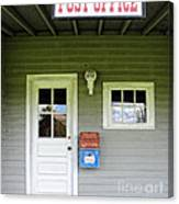 The Post Office Canvas Print