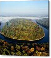 The Potomac River Makes A Hairpin Turn Canvas Print