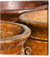 The Potters Terracotta Wares Canvas Print
