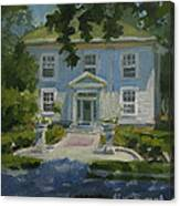 The President's White House Canvas Print