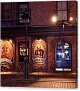 The Pub Canvas Print