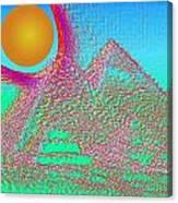 The Pyramids Canvas Print