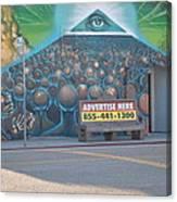 The Pyramids System Control Canvas Print