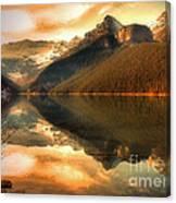 The Quiet Golden Glow Canvas Print