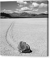 Death Valley California The Racetrack 2 Canvas Print