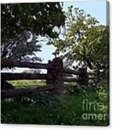 The Rail Fence Canvas Print