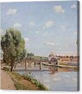 The Railway Bridge Canvas Print