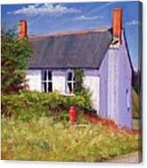 The Red Milk Churn Canvas Print